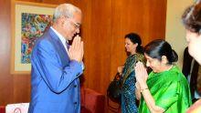 Sushma Swaraj a quitté Maurice ce soir