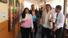 Nomination Day : les trois candidats de l'Alliance Morisien du No 18 sont arrivés pour déposer leurs candidatures