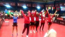 JIOI - Tennis de Table : les pongistes mauriciennes se qualifient pour la finale par équipe