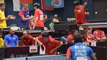 JIOI - Tennis de table par équipe : la médaille de bronze pour Maurice chez les hommes