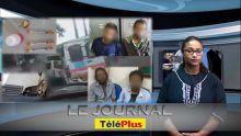 Le Journal TéléPlus - Course poursuite filmée entre la police et un van qui a heurté plusieurs véhicules dans sa fuite : quatre arrestations
