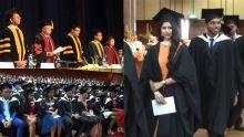 Graduation Ceremony à l'UoM : l'innovation facteur indispensable pour le progrès
