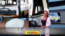 Le JT – Perle de la Savanne au Morne – un bus traîne un véhicule sur 20 mètres, bilan : 12 blessés