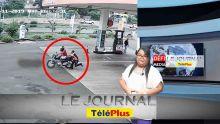 Le JT – Un pompiste s'agrippe à une moto à cause d'un billet de Rs 1000 « en carton »