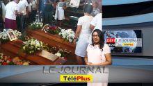Le JT – Incendie criminel à Paris - adieux émouvants à Revena et Adel