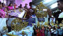 Maha Shivratree: les petits kanwars prisés par l'Ecroignard Sociocultural Group
