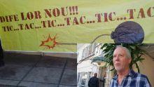 Banderole «Tic...Tac...» - « Le projet de Petroleum Hub est une bombe à retardement », selon Bax
