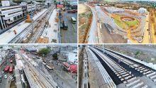 A 17 jours du «soft launch» du Metro Express : vue aérienne des travaux en cours