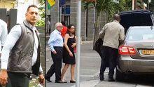 Le couple Malhotra escortéen Cour suprême par la Vipsu