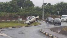 Fortes pluies : accumulations d'eau dans plusieurs régions à Maurice, prudence sur la route