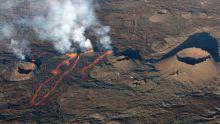 La Réunion : le volcan du Piton de la Fournaise fait son quatrième show de l'année