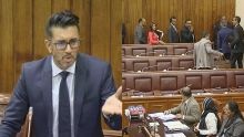 Parlement : Shakeel Mohamed suspendu pour trois séances, l'opposition quitte l'hémicycle