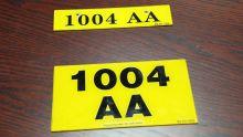 Plaques d'immatriculation non conformes : les automobilistes seront sanctionnés