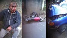À Quatre-Bornes: Il coince deux bandits avec sa voiture contre un mur