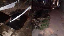 Un drain pollue l'air à Pointe-aux-Piments