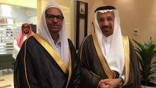 Showkutally Soodhun rencontre le ministre saoudien de la Santé