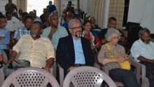 Cassam Uteem: «Palestiniens et Chagossiens déracinés»