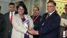 Visite de 5 jours de la présidente Ameenah Gurib-Fakim en Inde