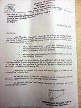 Vice-Présidence: le MMM salue la position de Vidya Narayen
