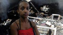 Sa maison a pris feu: une famille a besoin de nourriture et de vêtements