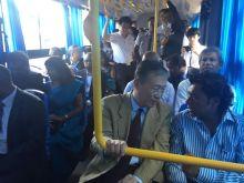 CNT: les «semi-low floor buses» offerts par le gouvernement chinois dévoilés