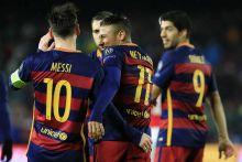 Ligue des champions : le Barça en quarts sans forcer grâce au trio MSN