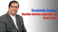 "Showkutally Soodhun: ""Mauritius-Emirates cooperation will boost tourism"""