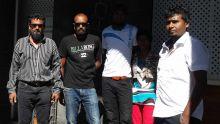 'Terreur' dans le Sud: vives tensions à l'arrivée des cinq suspects en Cour