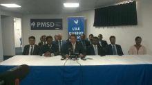 Xavier Duval annonce sa présence au congrès de Roshi Bhadain et lui propose une place au Front Bench de l'opposition