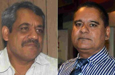Amar Deerpalsingh et Rashid Imrith