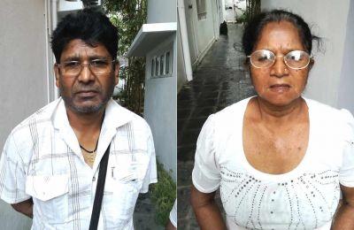 Dharma Seetaram et Mahaly Jaywantee