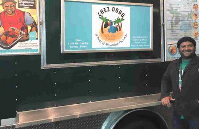 C'est en 2014 que le chef mauricien ouvre sa première foodcart.