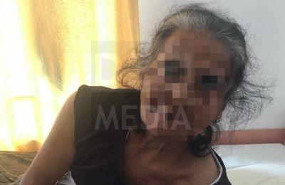 La victime a été admise à l'hôpital de Flacq.