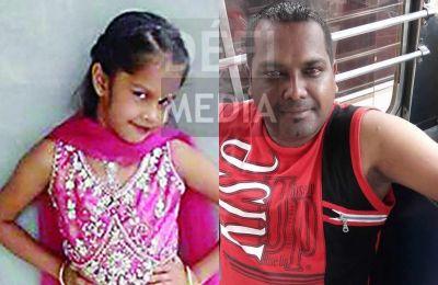 Vishal Jhurrua et sa fille Seshvi