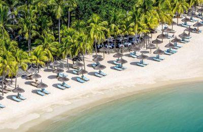 La plage devant l'hôtel Royal Palm, l'un des fleurons du groupe NMH.