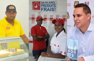 De gauche à droite Diresh Mungur, Farzana Awoodun et Nicolas Lecordier