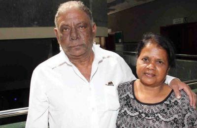 Luckeenarain et son épouse Mantee Ramjeet après l'énoncé du verdict.