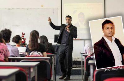 Atish Bagolah:Teaching others how to speak up