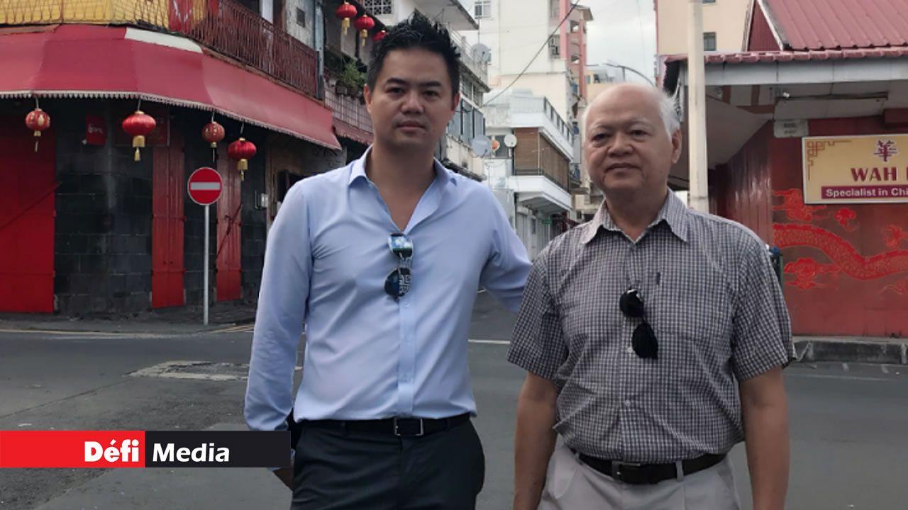 Titoni Lam, 75 ans, et son fils aîné ont étudié en Chine pour mieux connaître leur culture.