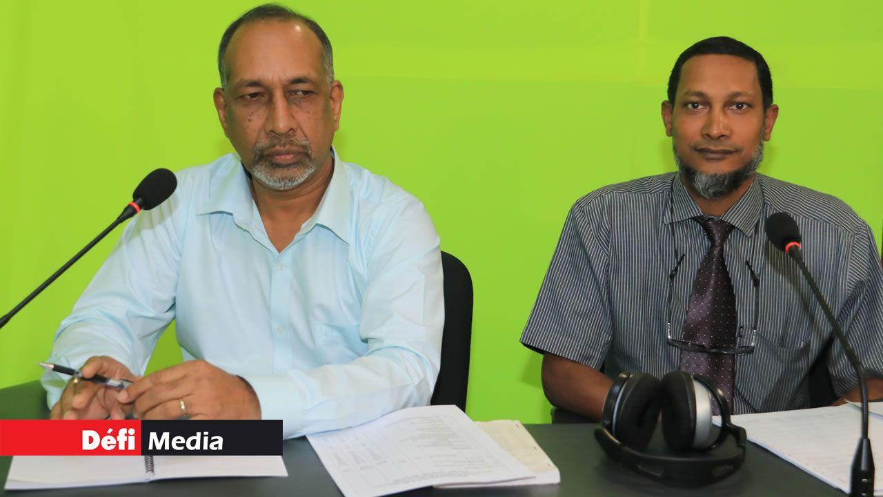 Anand Chummun et Nassib Emrith