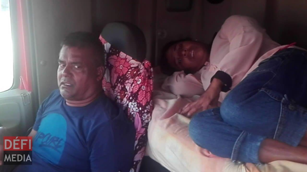 Leur maison vandalisée : un couple et sa fille contraints de passer la nuit dans un camion