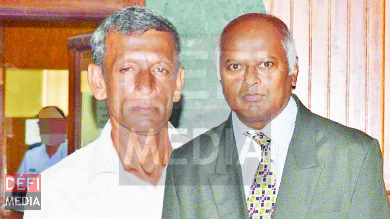 Veejai Coomar Doobooree et Omdeo Kumar Budloo.
