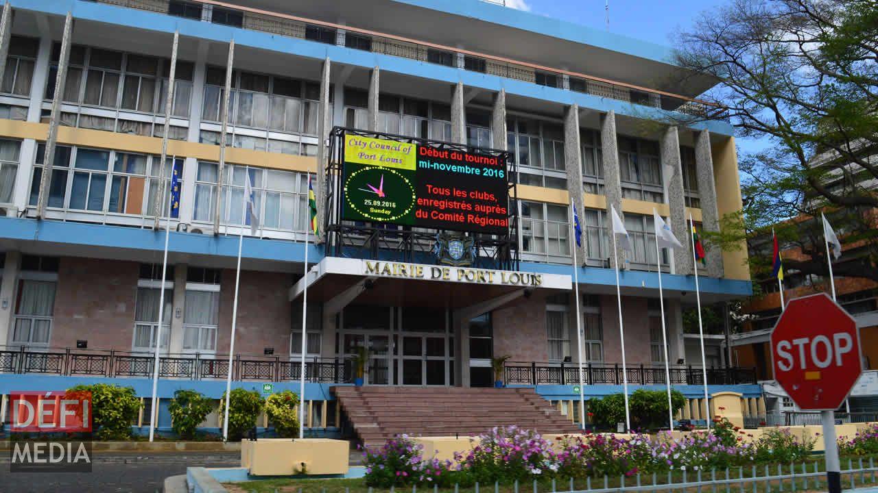La mairie de Port-Louis