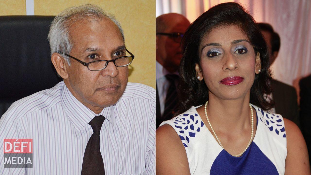 Anwar Husnoo et Malini Sewocksingh