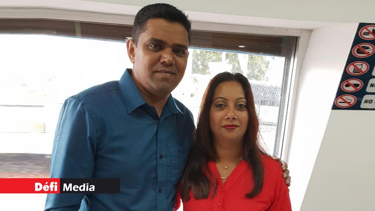 Shristsing et Reshma Gujadhur.