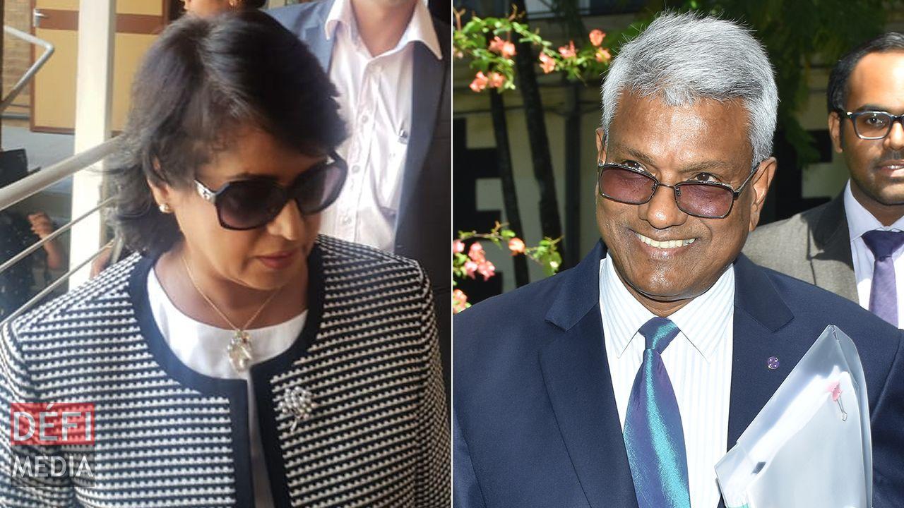 Ameenah Gurib-Fakim et Dass Appadu.