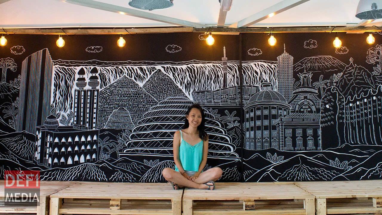 Celia Pang : quand le gribouillis devient un art