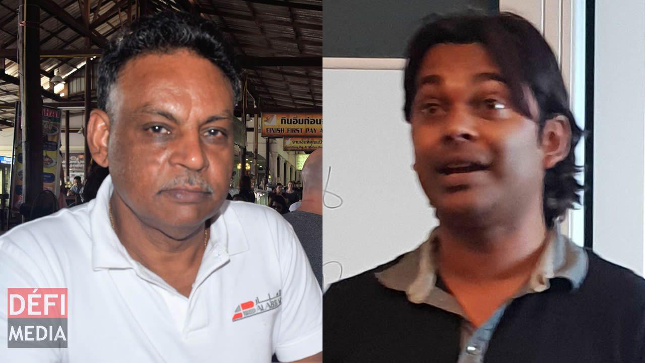 Rajendra Sewpersadsing et Brian Pitchen