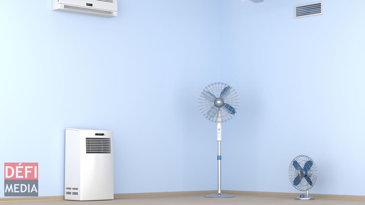 Le ventilateur est l'appareil électroménager qui se vend le plus en cette période de fin d'année.