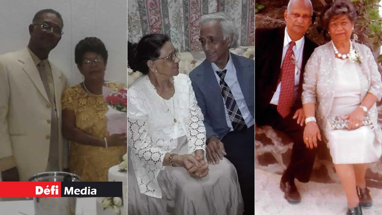 Saint-Valentin de vieux couples